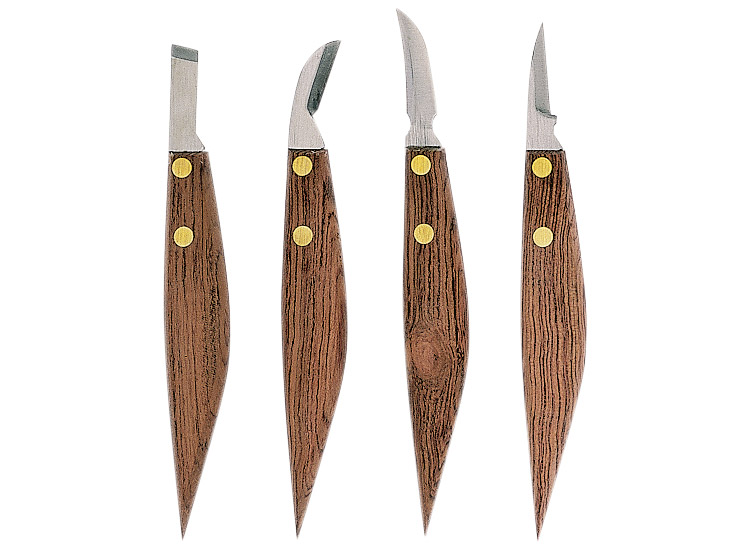 Gaignard millon sculpture outils couteaux de sculpteur set de 4 coute - Sculpture au couteau ...