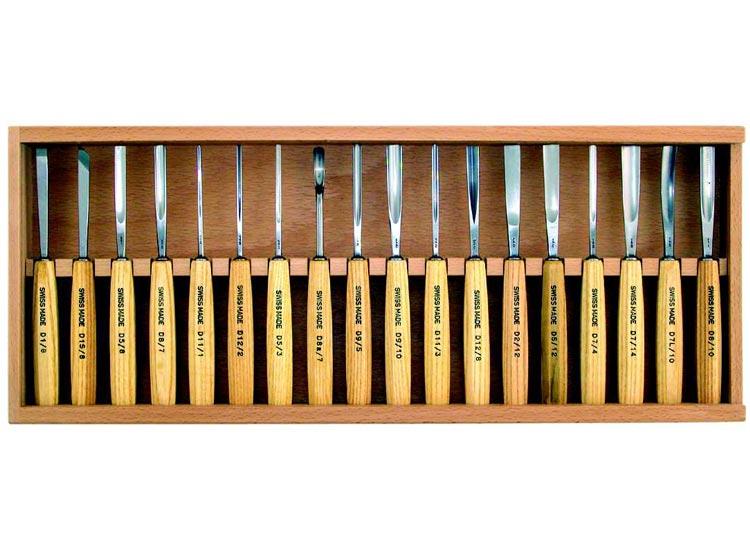 gaignard millon sculpture jeux d 39 outils coffret de 18 outils longueur m dium pfeil swiss made. Black Bedroom Furniture Sets. Home Design Ideas