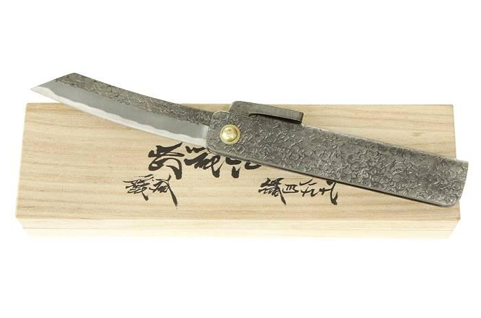gaignard millon couteaux japonais pliants higonokami tsuchime. Black Bedroom Furniture Sets. Home Design Ideas